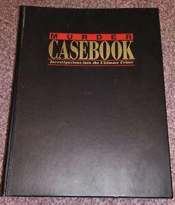 Murder casebook magazines volume 1 and 2