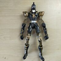 "5.5"" Figure 2003 Bandai Black Ranger Power Rangers Dino Thunder Extended Limbs"
