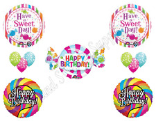 SWEET SHOP CANDY CRUSH 16th Happy Birthday PARTY Balloons Decorations Supplies