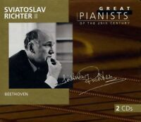Great Pianists of the 20th Century: Sviatoslav Richter, Vol. 2: Beethoven...