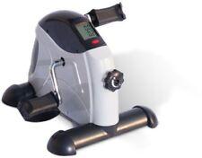 Homcom Portable Mini Exercise Bike Fitness Training Adjustable Knob for Leg and