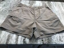 Women's The North Face Light Tan Athletic Hiking Shorts Size M