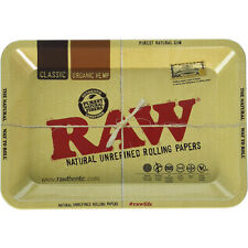 RAW Metal Rolling Tray Mini 7 x 5 Inch - 18 x 12.5 cm