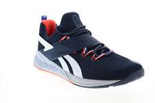 Reebok Nano X Froning FX3230 Mens Blue Mesh Athletic Cross Training Shoes