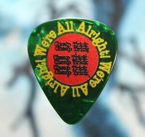 Cheap Trick // Rick Nielsen 2019 Tour Guitar Pick // We're All Alright! / Green