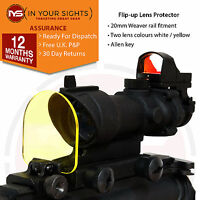 Rifle scope lens protector screen/Airsoft holographic sight screen Acog, 551 552