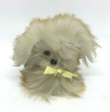 Vintage Mini Fluffy Dog Soft Toy - Great Condition