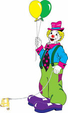 Morris Costumes Birthday Bright Colored Vinyl Leash Classic Clown Prop. Ka17