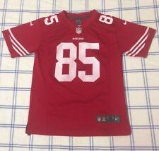 Nike San Francisco 49ers Vernon Davis Jersey Youth Medium NFL