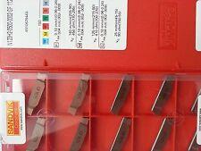 10 Sandvik Wendeplatten N123H2-0500-0002-CM 1125 NEU inkl.19% MwSt.