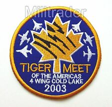 Canadian NATO Tigers Meet 2003 4 Wing Cold Lake Patch
