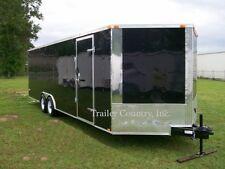 NEW 8.5X24 8.5 x 24 Enclosed Carhauler Cargo Trailer 10K Axles
