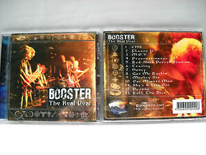 **BRAND NEW CD-BOOSTER THE REAL DEAL-13 GREAT TRACKS FROM THIS ADELAIDE BAND**