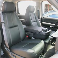 2010 - 2013 CHEVROLET Silverado LT Leather Interior seat covers - Black