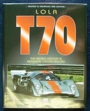LOLA T70 RACING HISTORY & CHASSIS RECORD BOOK 3rd edn.