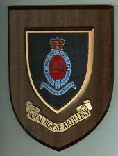 ROYAL HORSE ARTILLERY Wall Shield