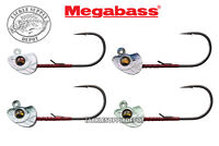 Megabass Okashira Jig Head Swimbait 1/16oz 3/0 3pk - Pick