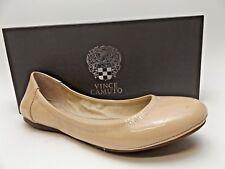 Vince Camuto 'Ellen' Ballet Flats Women's Slip-On Leather Bisque SZ 7.0 M  D633