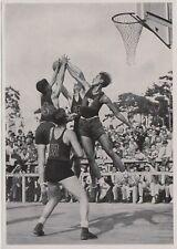 1936 BERLIN GERMAN OLIMPIC GAMES - Basketball Athletes ORIGINAL PHOTO #157