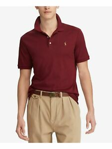 RALPH LAUREN Mens Maroon Short Sleeve Classic Fit Polo XXL