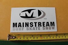 New listing Mainstream Surf Skate Snow California Surfboards Misc So Cal Surfing Sticker