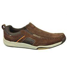 Dr. Scholl's Mens Cameron Casual Brown Leather Shoe Sz: 7.5 Comfort Tech #27