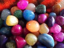 Assorted Lot of 30 Beautiful Med to Large Polished Rocks Semi-Precious Stones