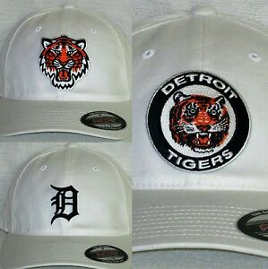 "Detroit Tigers ""FLEX FIT"" CAP ⚾HAT ⚾CLASSIC MLB PATCH/LOGO ✨2 Sizes 3 Styles⚾NEW"
