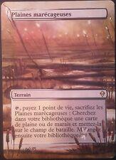 Plaines Marécageuses Altérées - Altered Marsh Flats  Laura Van Wie - Magic mtg 1