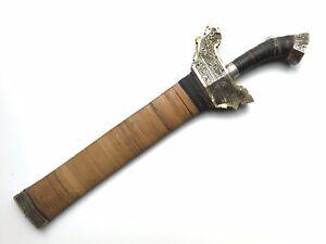 Moro Child's  Kris Sword, barong, barung, kampilan, Knife, Philippines, Filipino