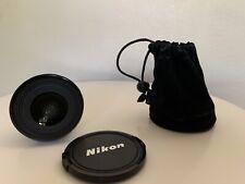 Nikon WC-E63 Wide Angle Converter Lens w/ Original Bag and Instructions