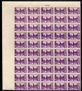 "758 Farley spec printing "" 3c National Park"" Sheet of 50 Mint,NGAI"