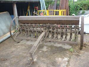 Massey Harris Vintage Seed Corn drill. Full working order