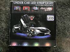 RaceSport LEDUNDERKIT under car led strip light kit NEW