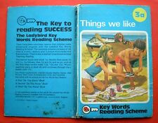 Things We Like vintage Ladybird book 3a Key Words Reading Scheme early learning/