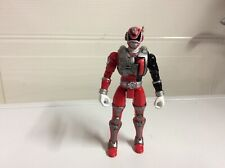 Power Rangers SPD Sound Patrol Red Power Ranger 1 Action Figure 2005 Bandai 6""