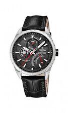 Festina Herrenuhr Uhr Multifunktion Tag Datum Armbanduhr Schwarz F16986/3