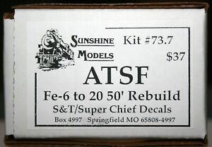 SUNSHINE MODELS KIT # 73.7 FE- 6 50' REBUILT BOXCAR
