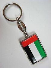 Porte-Clés Arabes Emirates Uae Drapeau, 10 CM, Souvenir Porte-Clés