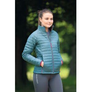 Women's Bridleway Willow Ladies Padded Jacket - Sage WAS £54.99