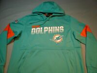 Nike Miami Dolphins Sideline Scrimmage XL or 2XL BRAND NEW Hoodie on field NWT
