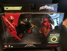NEW Power Rangers Super Ninja Steel Red Ranger Mega Morph Activator Lunar Rover