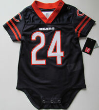 NEW Baby 6-9 Month NFL Chicago Bears #24 Jordan Howard One-Piece Sleeper Outfit