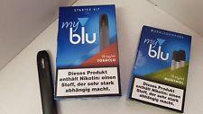 """my blu """" E-Zigarette  """" Starter-Kit und 2 POT`s MENTHOL extra 1,5ml = € 3,25"""