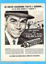 QUATTROR963-PUBBLICITA'/ADVERTISING-1963- PALMOLIVE - CREMA DA BARBA