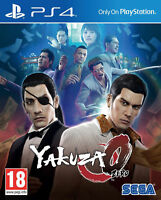 Yakuza 0 Ps4 PlayStation 4 SEGA CHEAP PRICE AND FREE POSTAGE