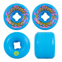 Santa Cruz Skateboard Wheels Slime Balls 60mm Goooberz Vomits 97A Blue