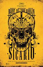 "Sicario - (Sugar Skull) Movie Poster - (24""x36"") - Free S/H"