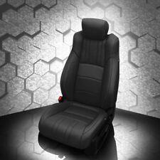 KATZKIN BLACK REPLA LEATHER SEAT CVRS FITS 2018 2019 HONDA ACCORD SPORT EX SEDAN