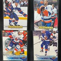 New York Islanders🚨4 Card Upper Deck Canvas Lot🚨Nelson Baily Lee Ladd
